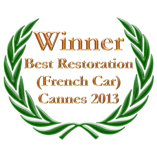 Sunny Days Prestige Travel: Citroën Traction - Best Restoration of a French Car, Cannes 2013